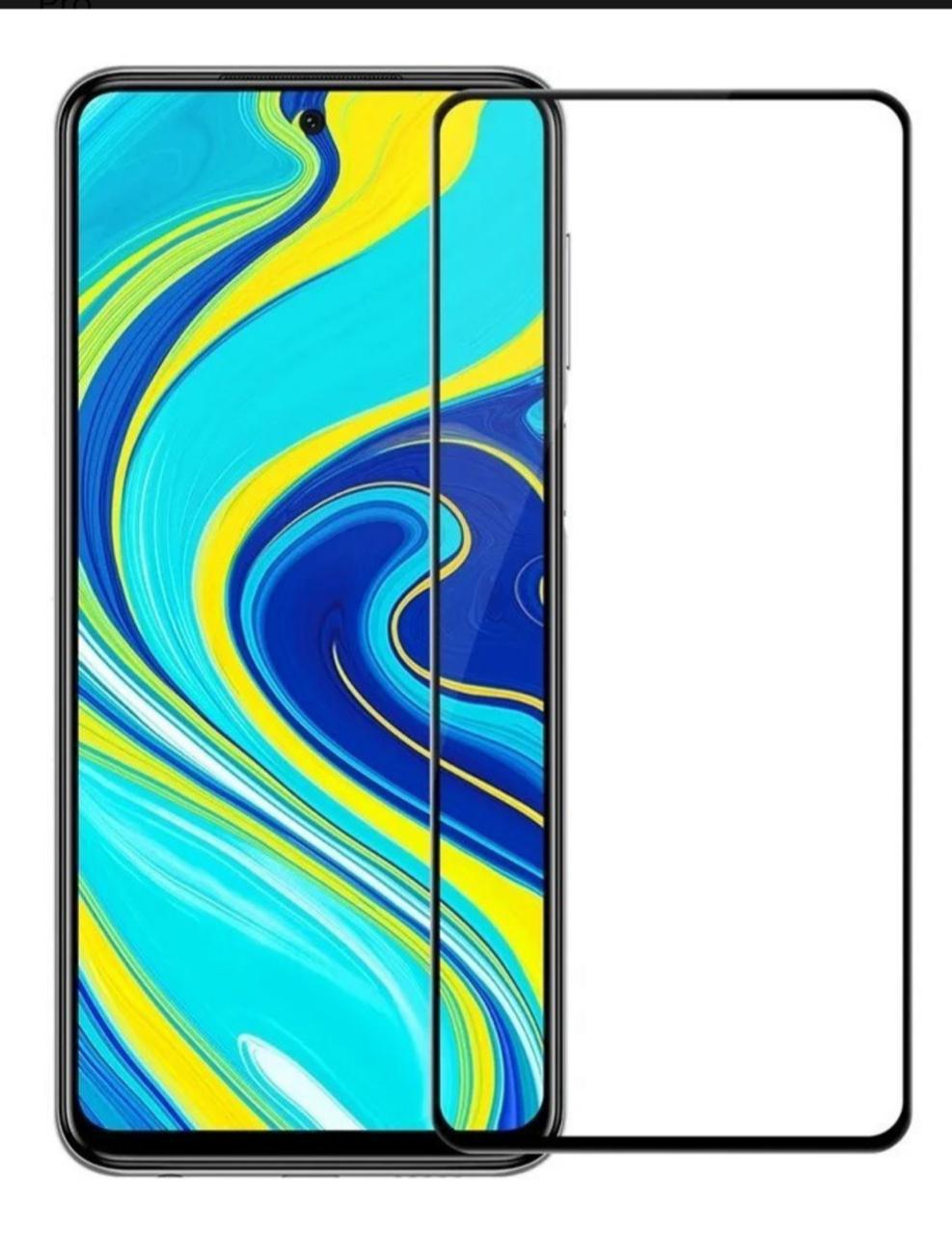 Película 3D de Vidro para Xiaomi NOTE 9 S com Borda Preta P3D-NOTE9S-PR