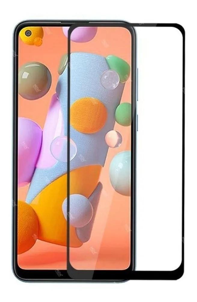 Película 3D de Vidro Samsung A11 com Borda Preta P3D-A11-PR