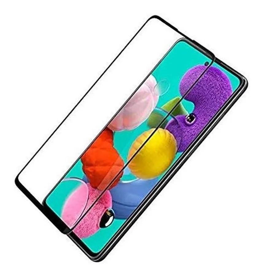 Película 3D de Vidro Samsung A51 com Borda Preta P3D-A51-PR