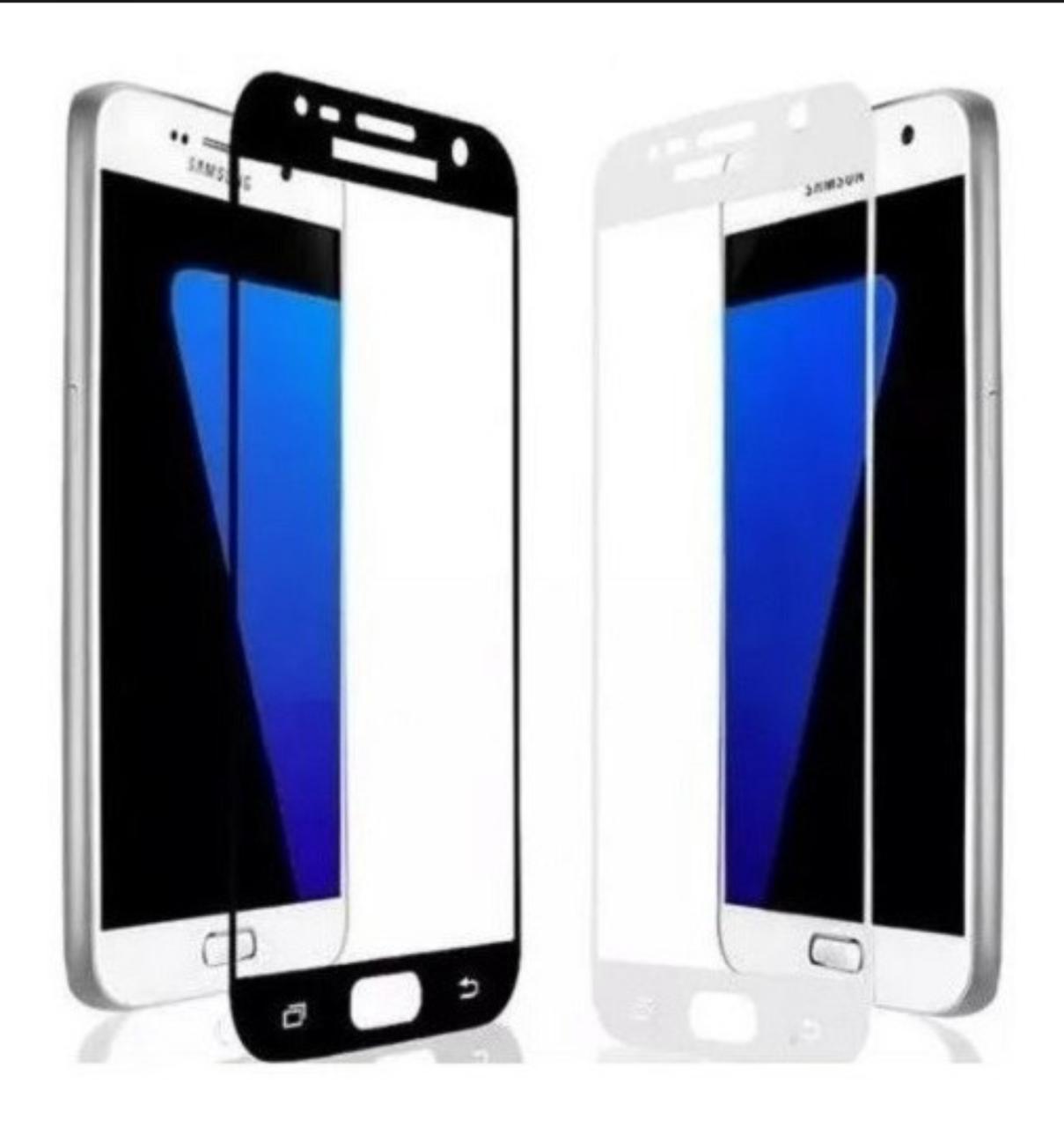 Película 3D de Vidro Samsung J7 com Borda Branca P3D-J7-BR