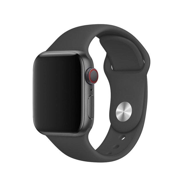 Pulseira de Silicone para Apple Watch Grafite 38/40mm  MODEL-38/40-GR