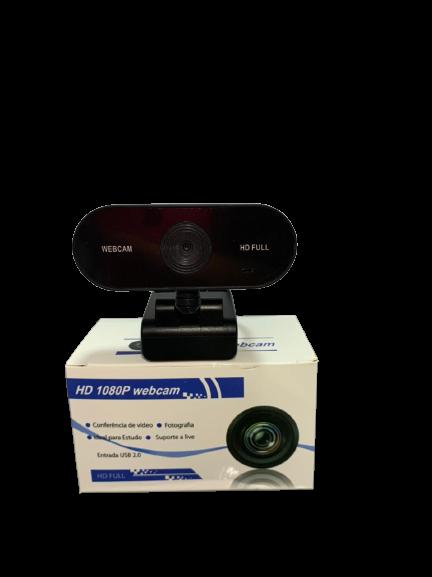 Webcam Full Hd 1080p Usb com Alta Resolução HD-9H