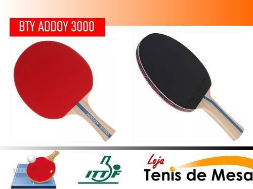 Raquete Butterfly Classica Profissional Addoy 3000