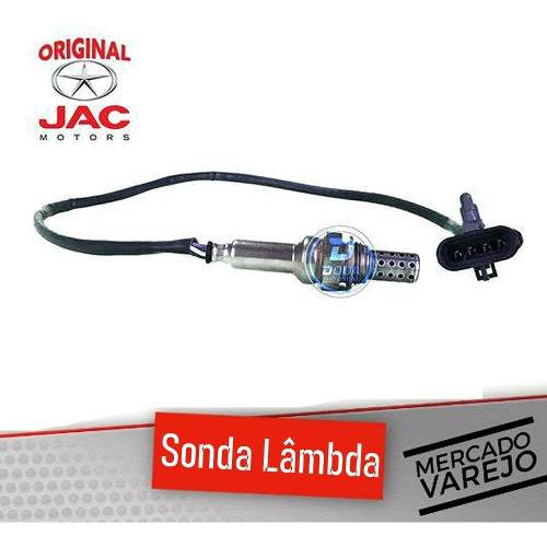 Sonda Lambda Jac J2 J3 J5 Original Delphi Sensor Oxigenio Jac Importado Ótima Qualidade