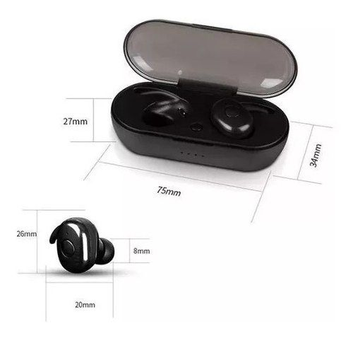 Mini Fone De Ouvido Bluetooth 5.0 Tws K16 Earphone Android e IOS