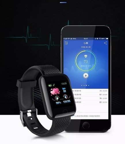 Relogio Smartwatch Smartband D13 Fit Pro Android e IOS