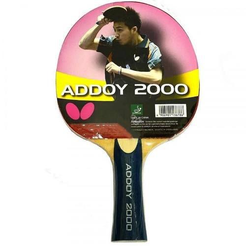 Raquete Butterfly Addoy 2000 Tenis De Mesa Profissional