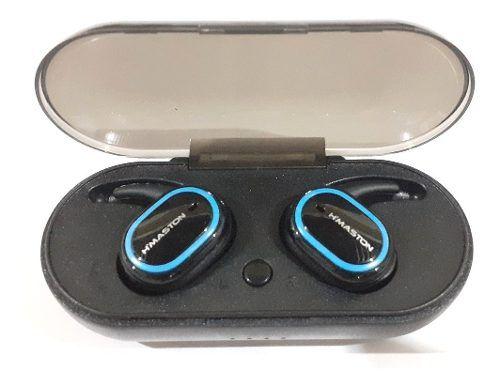 Fone De Ouvido Bluetooth H'maston Sem Fio Pro Preto/azul