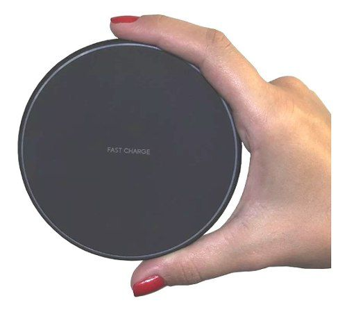 Carregador Sem Fio Samsung Android e Ios S/ Fio Fast Charger