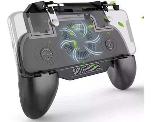 Controle Gamepad R1 L1 Com Cooler Free Fire Pub Call Of Duty