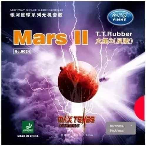 Borracha Similar A Tenergy 64 - Mars 2 Profissional + Brinde