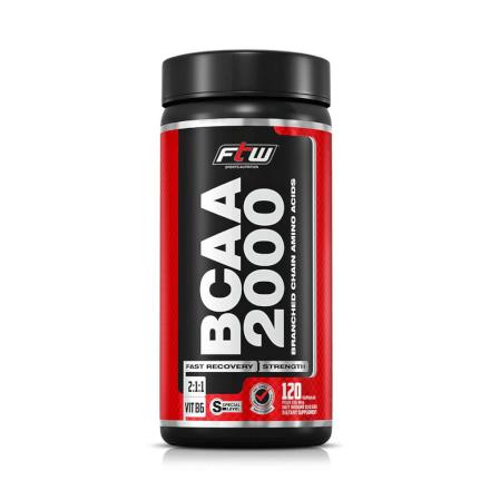 BCAA 2.000 FTW 500mg  - 120 CÁPS