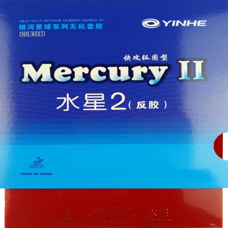 Borracha Tênis De Mesa Yinhe Mercury II Envio Imediato