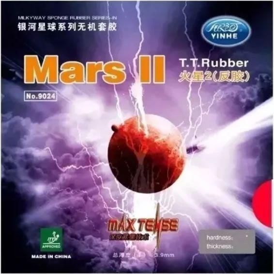 Borracha Yinhe Mars 2 Tênis De Mesa - Similar Tenergy