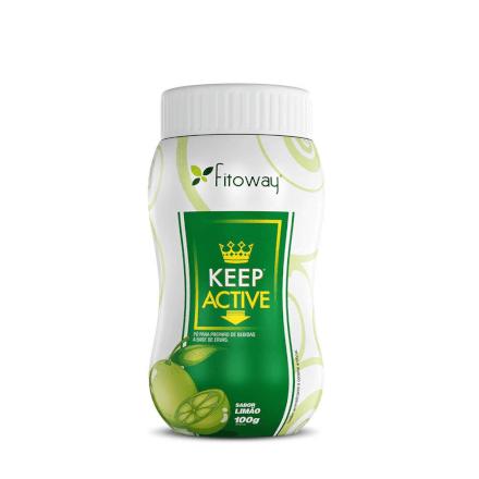 Chá Keep Active Fitoway - Sabor Limão - 100g