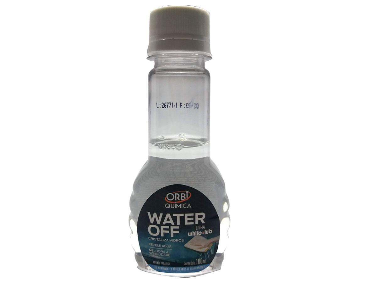Cristalizador De Vidros Automotivo Water Off Orbi 100ml