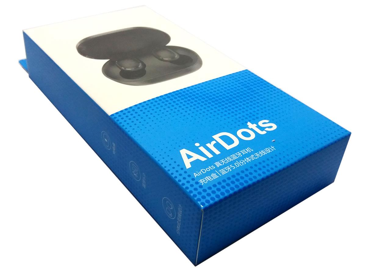 Fone Redmi Airdots Bluetooth Sem Fio Preto envio imediato