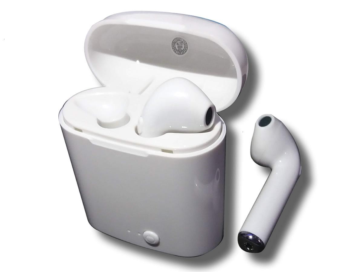 Fone Sem Fio Bluetooth Tws I7s In-ear C/ Case Recarregável