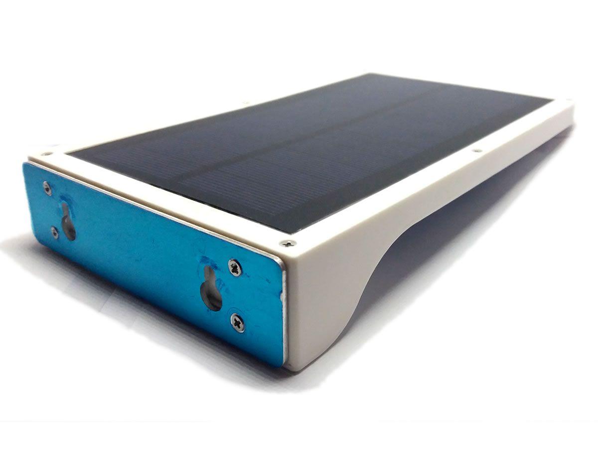 Luminária Solar De Parede Com Sensor De Presença C/36 Leds