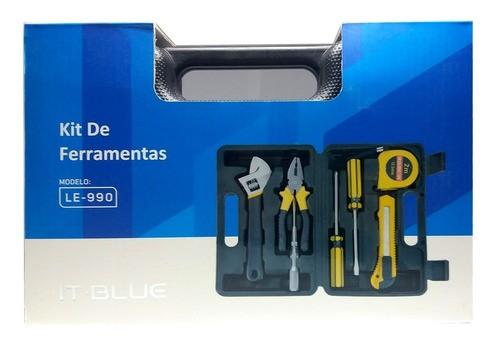Maleta De Ferramentas Le-990 Kit Com 7 Peças Multiuso