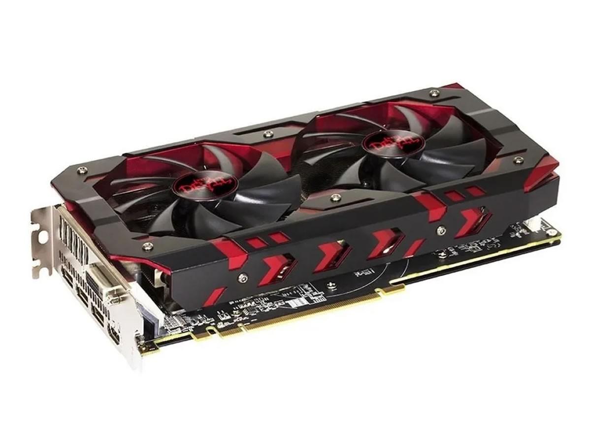 Placa De Vídeo Amd Red Dragon Radeon Rx 580 Oc Edition 8gb