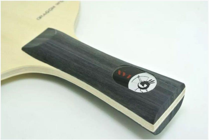 Raquete Clássica Dragon Wood Xvt Tênis De Mesa