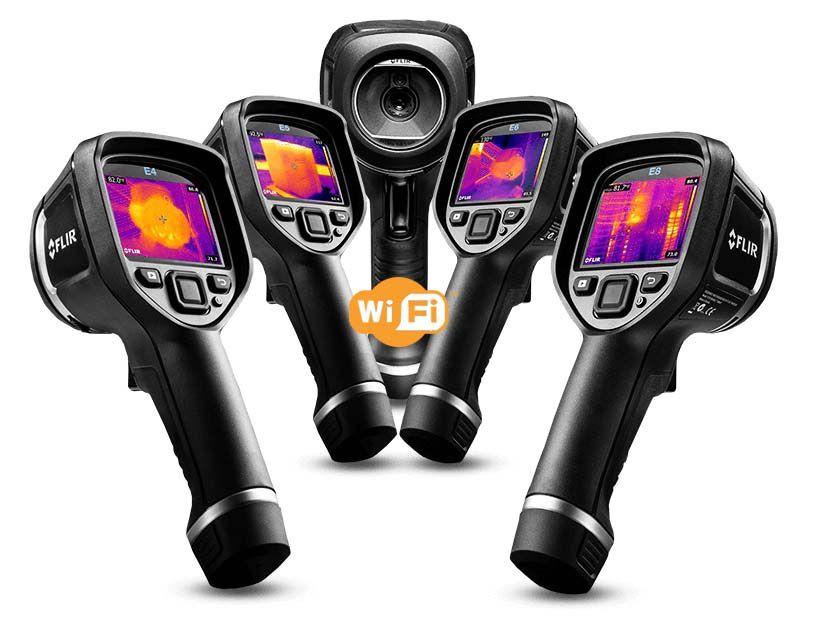 Câmera Térmica Portátil E5xt c/ Wi-Fi – FLIR