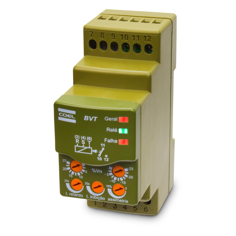 Monitor de Tensão Trifásico BVT – COEL