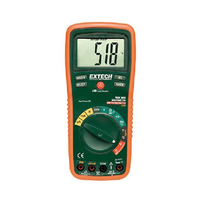 Multímetro Profissional True Rms Com 12 Funções Ex470 - Extech
