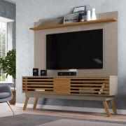 Bancada Frizz 1.8 para TV de até 75 Pol. e Painel Lorenzo 1.8 para TV de até 60 Pol. - MADETEC
