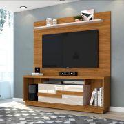 Combo Rack Bancada Bia e Painel Lorenzo 1.6 para TV de até 60 pol. - MADETEC