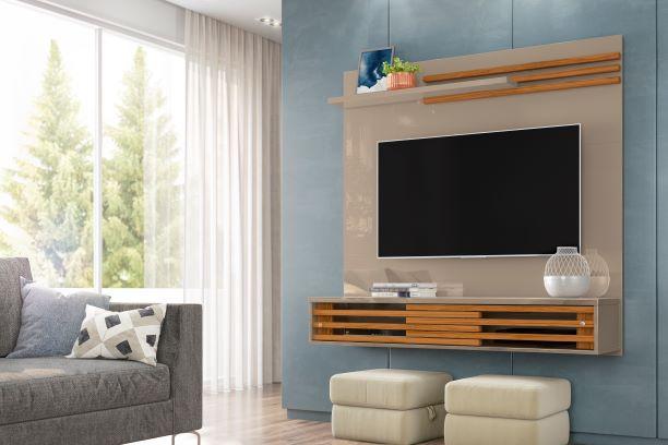 Bancada Suspensa Frizz Sublime para TV de até 55 Pol. - MADETEC