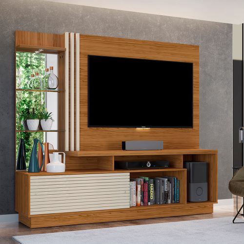 ESTANTE HOME THEATER FRIZZ PLUS  PARA TV ATÉ 60 POL. - MADETEC
