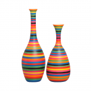 Garrafas Coloridas Nobre E Asteka Cerâmica Colors Kit