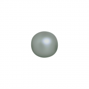Esfera Decorativa G Enfeite De Mesa Cerâmica Cinza Fosco