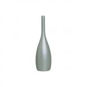 Garrafa Decorativa Tulipa P Decoração Em Cerâmica Cinza Fosco