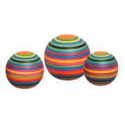 Trio Esferas Decorativas Decoração Em Cerâmica Colors