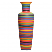 Vaso De Chão Madri Decoração Cerâmica Colors
