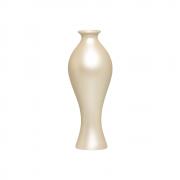 Vaso Decorativo Califórnia M Decoração Em Cerâmica Creme