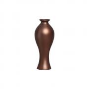 Vaso Decorativo Califórnia P Decoração Em Cerâmica Café