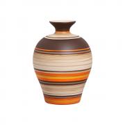 Vaso Decorativo Topázio G Decoração Em Cerâmica New Sunset
