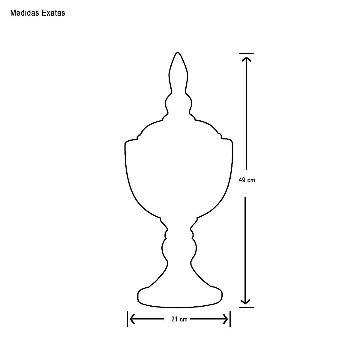 Dupla Pote Requinte Decoração Em Cerâmica Pérola e Fendi Grécia