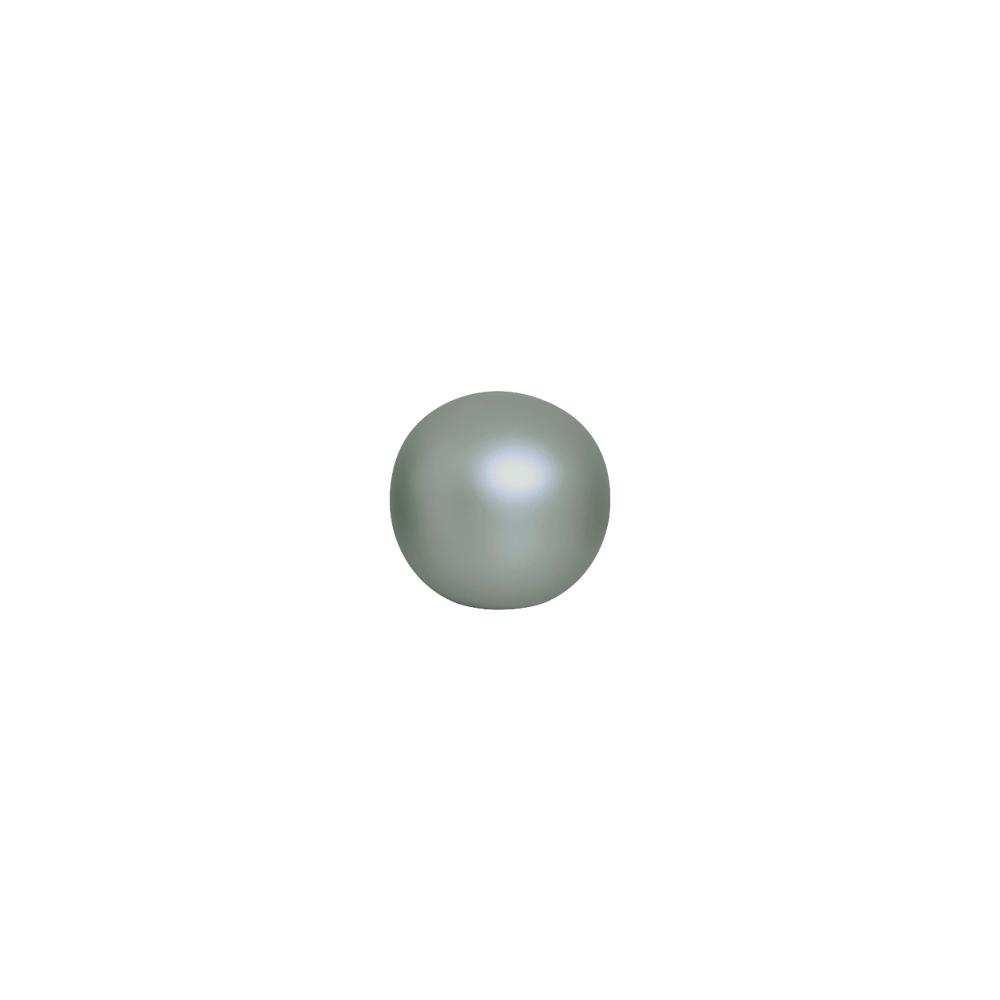 Esfera Decorativa P Enfeite De mesa Cerâmica Cinza Fosco