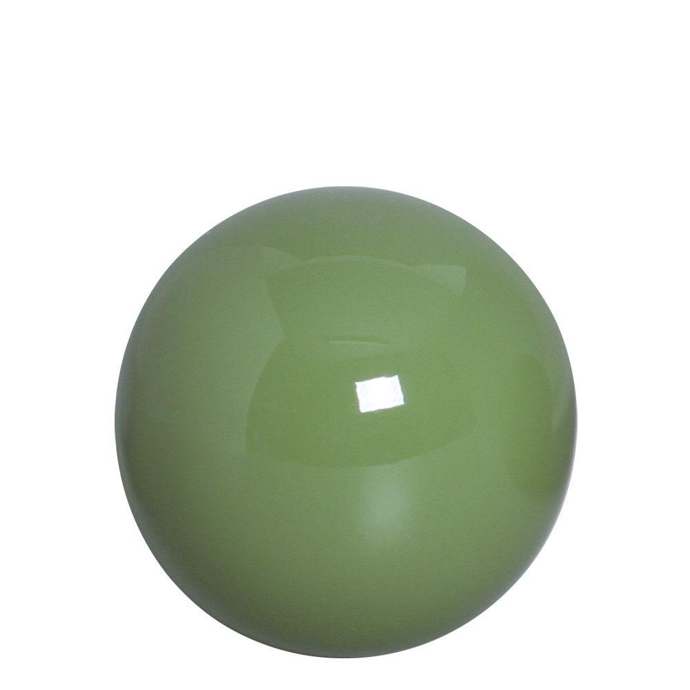 Esfera P Decoração Em Cerâmica Verde