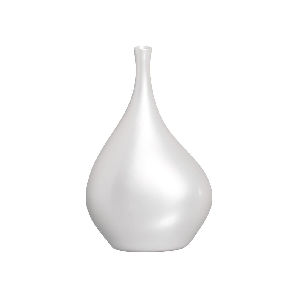 Vaso Decorativo de Mesa para Sala Cristal G Pérola
