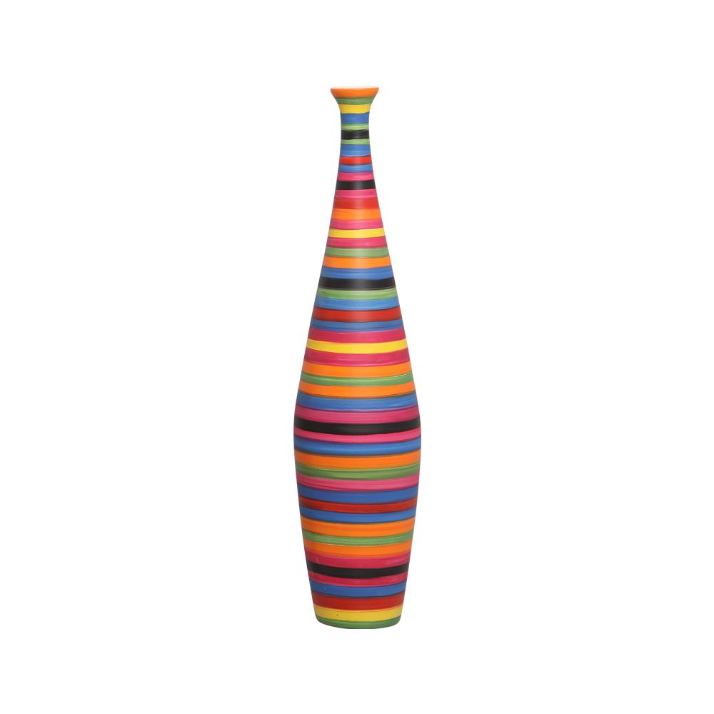 Garrafa de Chão Faenza P Decoração em Cerâmica Colorida Colors