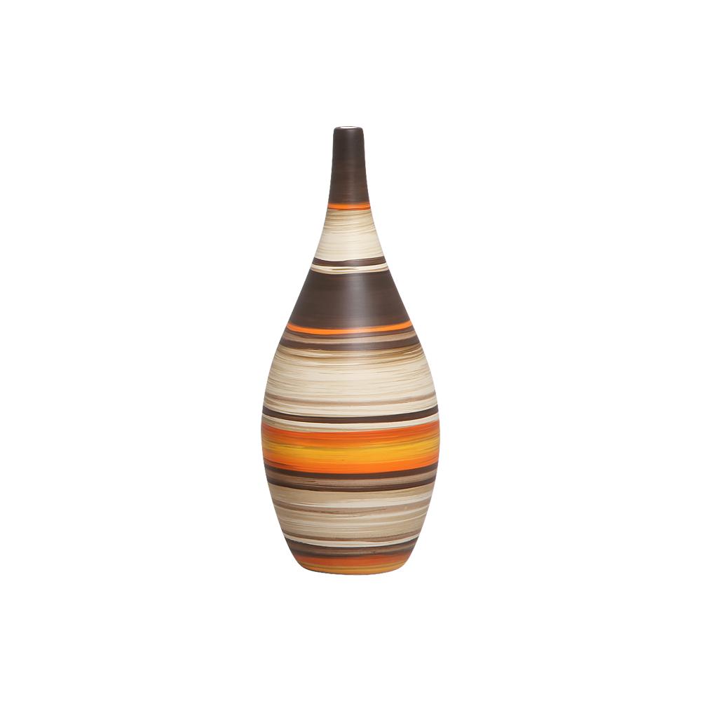 Garrafa Decorativa Jasmim G Decoração Cerâmica New Sunset