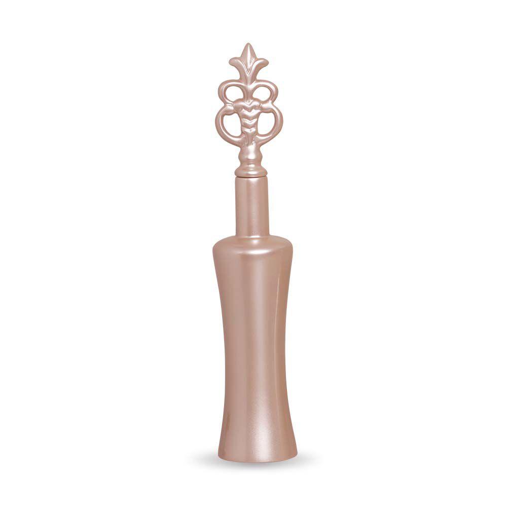 Garrafa Lins G Decoração Em Cerâmica Rosé