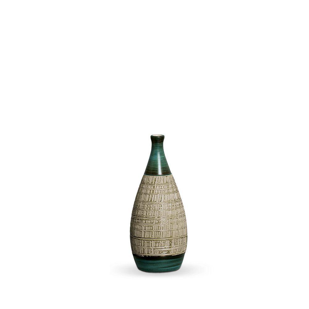 Garrafa Mel P Decoração Em Cerâmica Verde E Palha Dubai