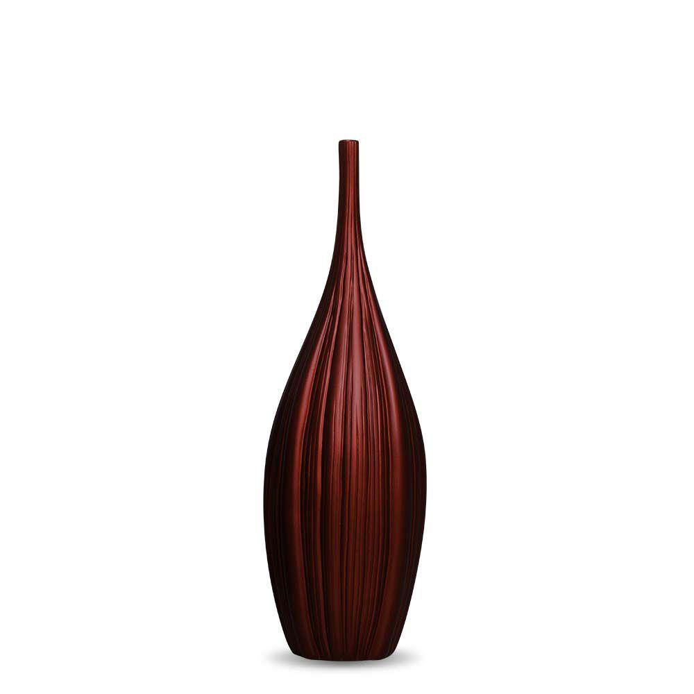 Garrafa De Chão Sevilha P Decoração Em Cerâmica Vinho Sensation